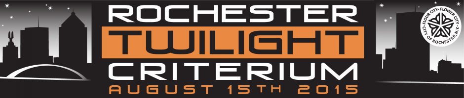 The Rochester Twilight Criterium races into Downtown on August 15th